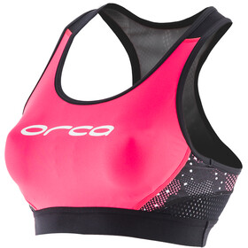 ORCA Core Support Sujetador Mujer, black/merengue